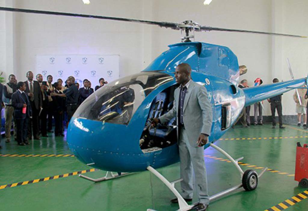 Découvrez le premier concepteur zimbabwéen d'hélicoptère hybride