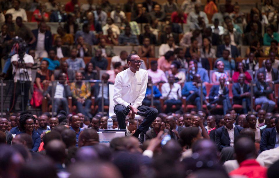 Rwanda / Entrepreneuriat : Paul Kagamé échange avec plus de 2000 jeunes - Tech en Afrique