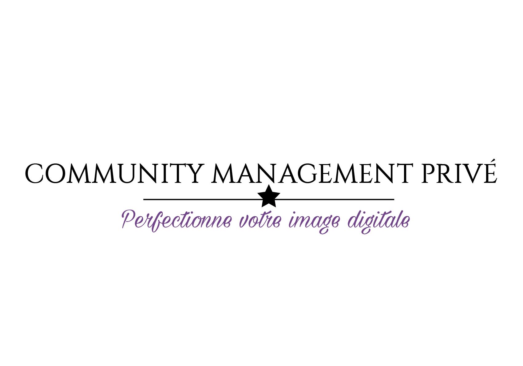 Notre société • Community Management Privé
