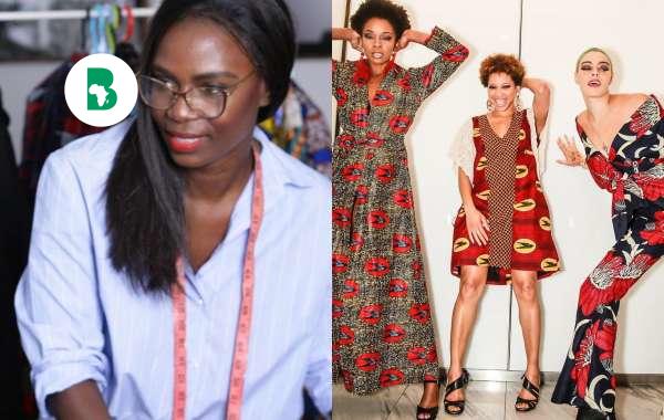 Silu By Shara une marque de vêtement hybride d'inspiration occidentale et africaine.
