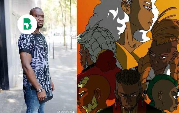 """Ce styliste camerounais a crée """"La légende de Wazal"""" un mix entre mode, bande dessinée et conte traditionnel"""