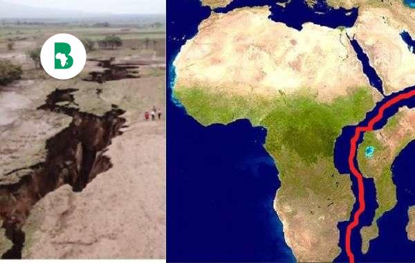 l'Afrique se divise en deux continents - voici pourquoi