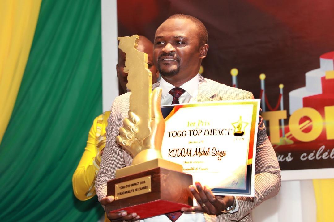 14ans d'actions récompensés,  Docteur KODOM, Personnalité 2018 au Togo - L'OEIL D'AFRIQUE