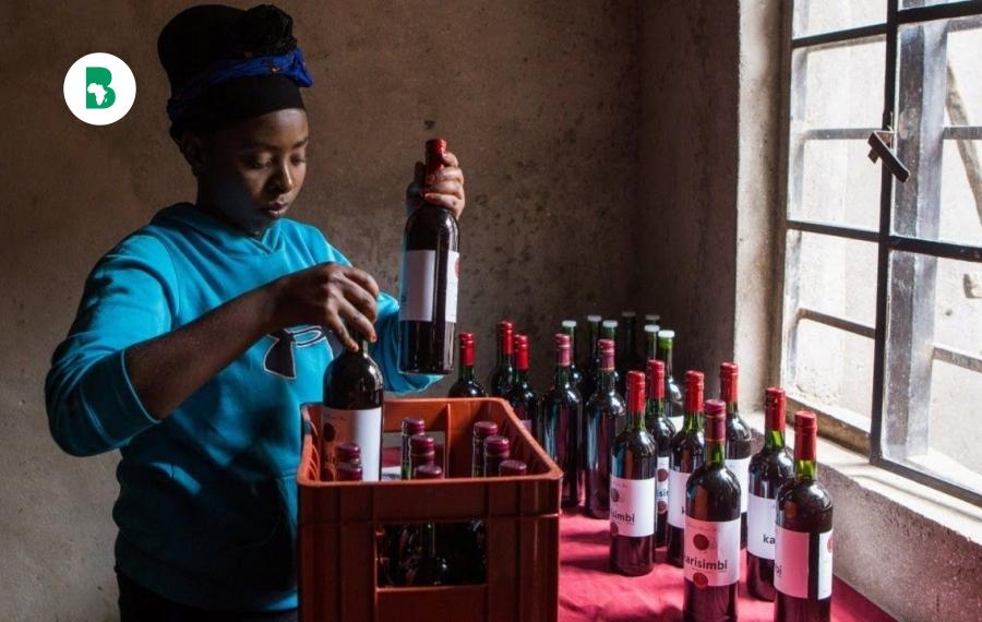 Comment une femme entrepreneur rwandaise transforme la betterave en vin