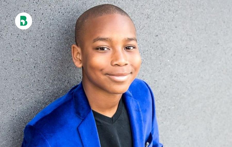 """Christon """"The Truth"""" Jones ,11 ans auteur et trader en bourse"""
