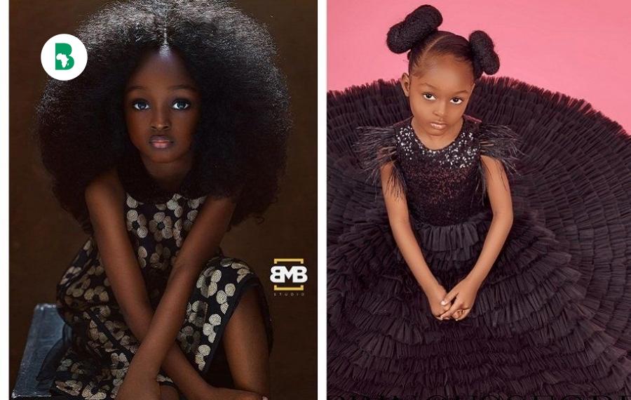 """La """"plus belle fille du monde"""" du Nigeria trouve sa place dans le mannequinat international"""