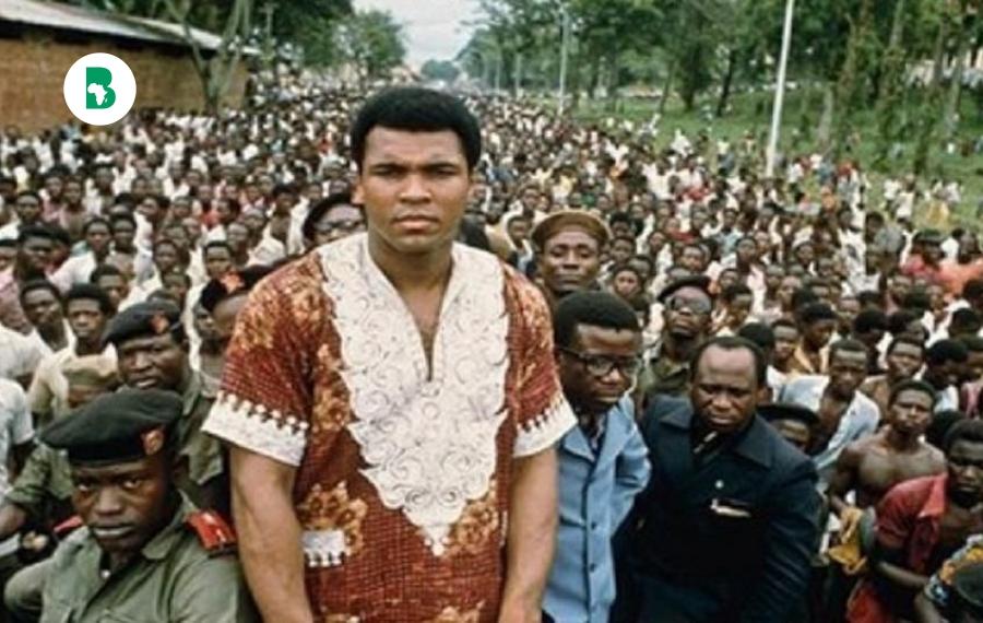 La légende de la boxe, Muhammed Ali, pensait que l'Afrique était une jungle avant sa visite