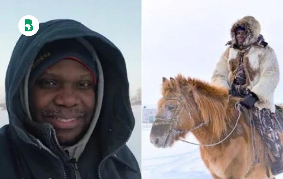 Mark Babatunde, le seul Africain vivant à l'endroit le plus froid de la planète