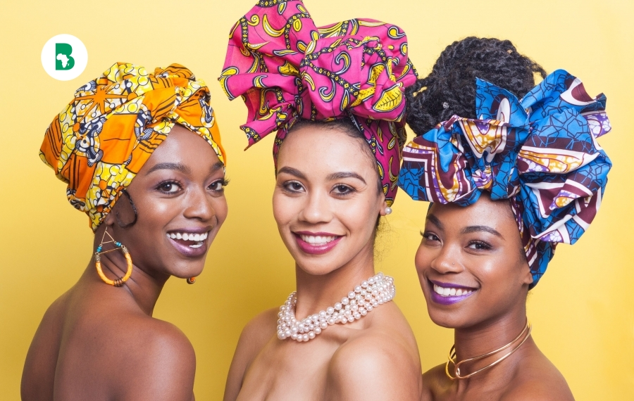 Les turbanistas, mettent en valeur la beauté au travers du tissus (turban, foulard, bandeau)