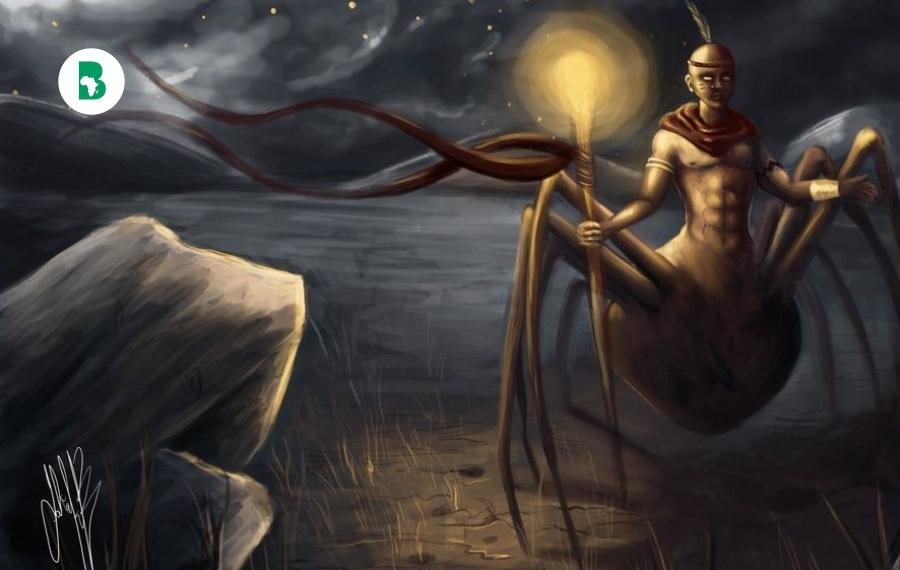 La légende d'Anansi :  l'araignée du folklore ouest-africain et caribéen