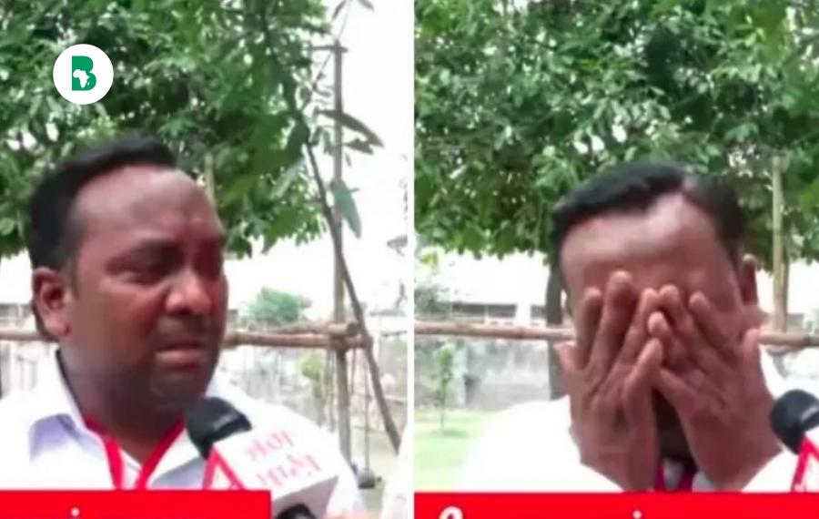 Un politicien pleure après avoir obtenu «5 votes» malgré 9 parents