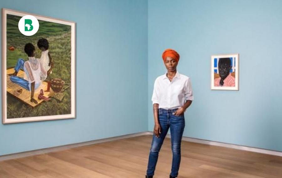 Une artiste nigérienne, Toyin Odutola vend une oeuvre d'art pour 471 000 £