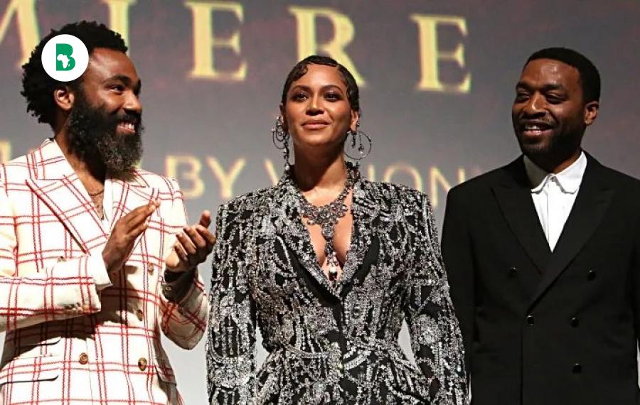 Les «rois» et les «reines» noirs à la première du roi lion à Hollywood