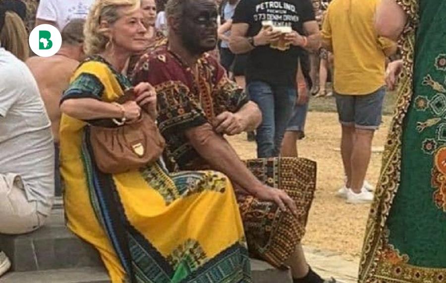 Une fête raciste 'blackface' en Belgique proche de l'ancien zoo humain Léopold suscite la colère et l