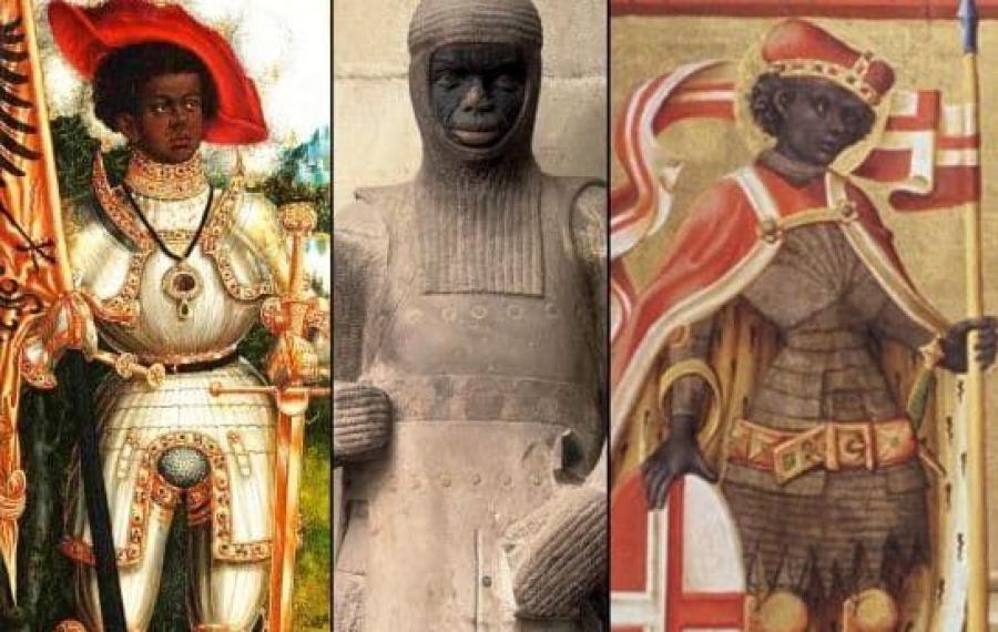 Fabre d'Olivet: l'homme blanc sortant des cavernes rencontre la civilisation noire
