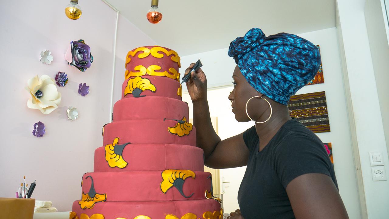 Nanterre - Elle quitte son poste de cadre sup' pour se lancer dans les pâtisseries afro-chic | La Gazette de la Défense