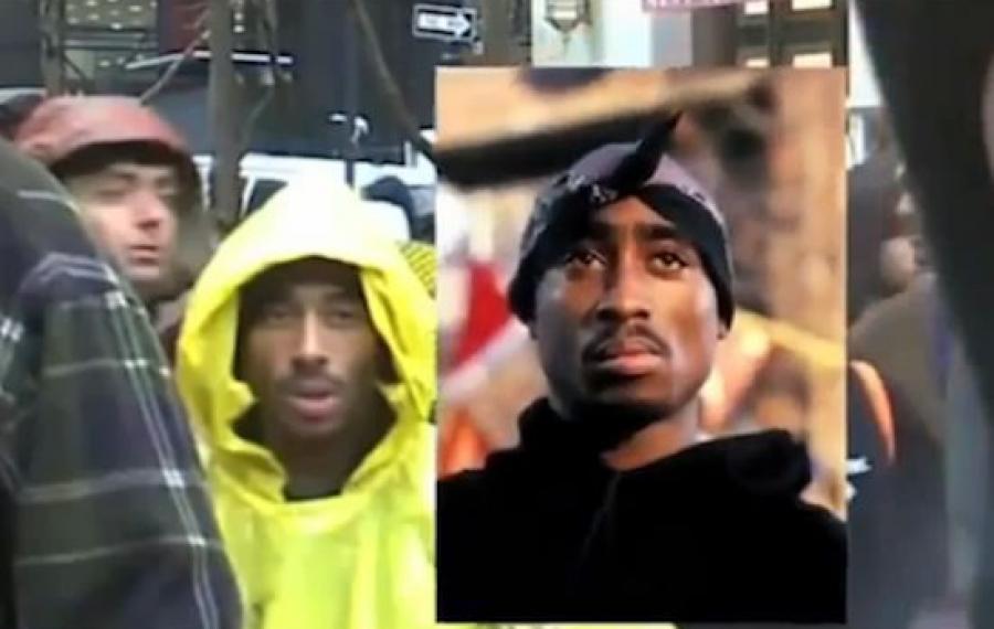 """Tupac Shakur aperçu """"vivant"""" dans une vidéo récente"""