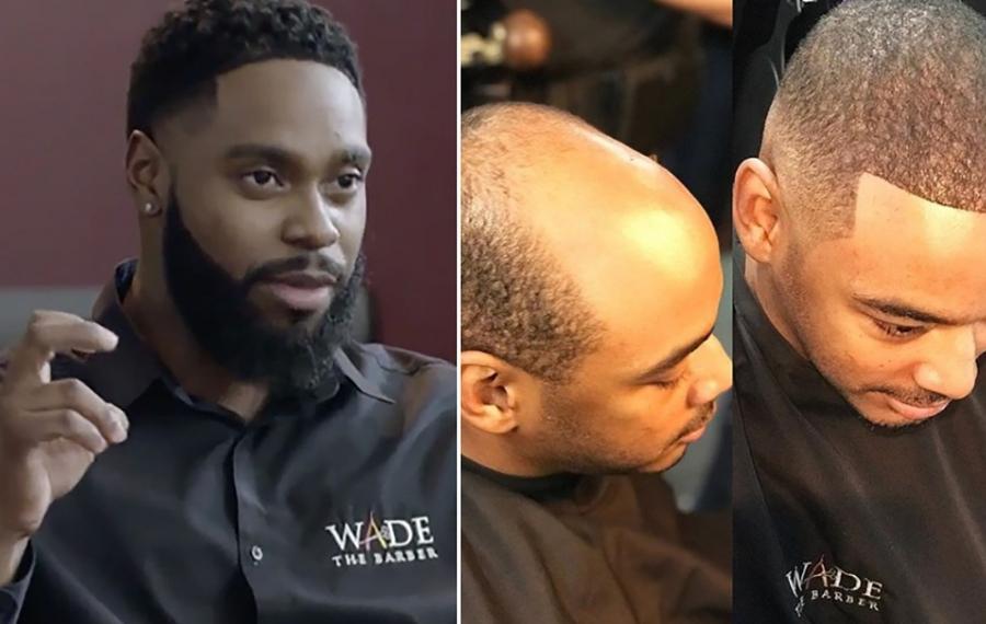 Faites la connaissance de Wade Menendez, le barbier derrière la création du tissage pour hommes