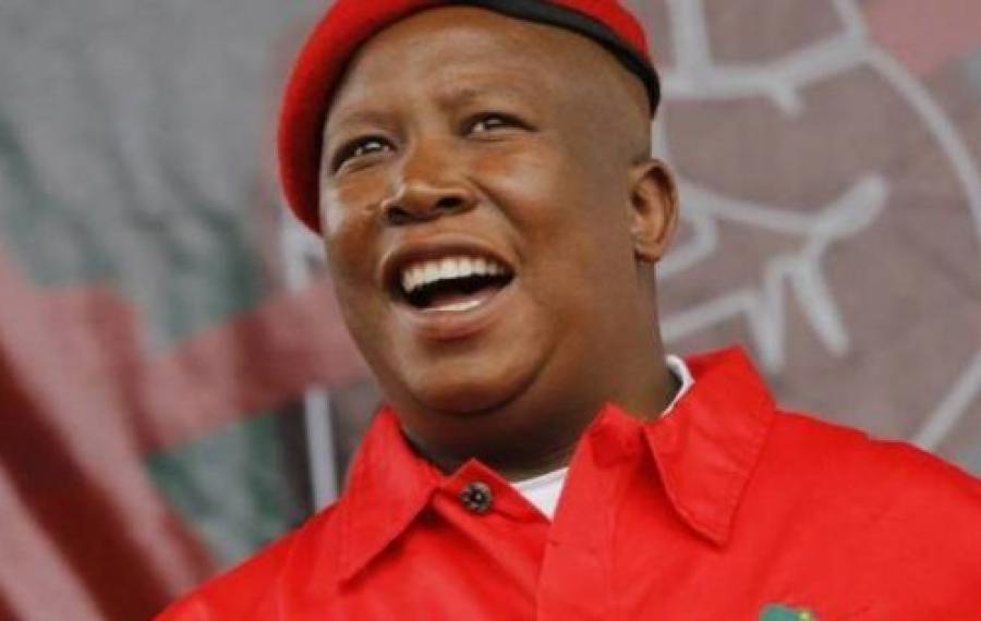 Les États-Unis d'Afrique doivent se produire - Malema de l'Afrique du Sud réitère