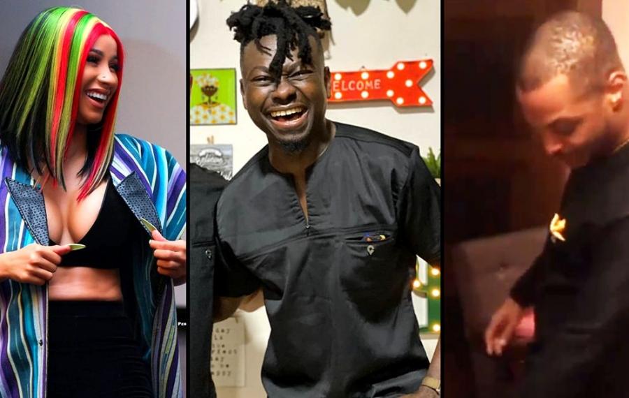 Rencontrez Kwaku Bediako, le créateur de mode ghanéen qui a habillé Steve Harvey, Cardi B, Idris Elba ...