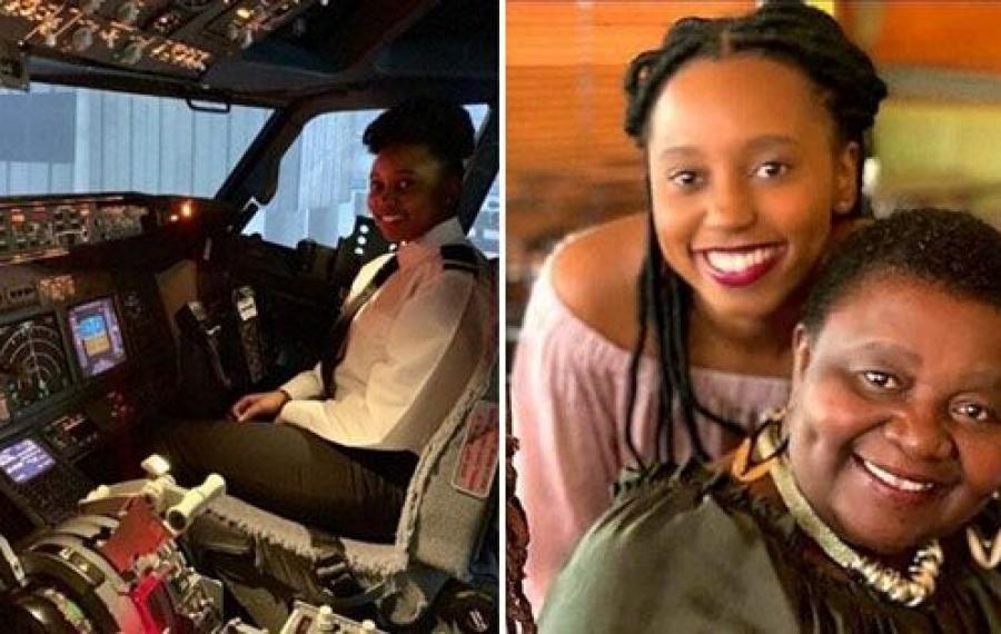 Cette mère vend des biscuits frais pour collecter des fonds pour que sa fille devienne pilote