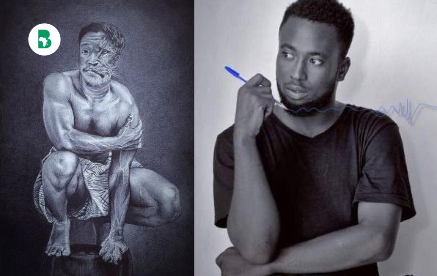 Le béninois Fatiou Aboudou a remporté le concours BIC Art Master Africa - African Shapers