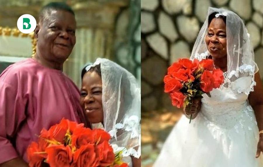 Nigeria : elle se marie pour la première fois à l'âge de 60 ans