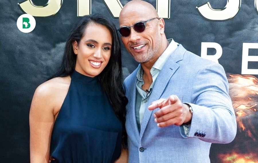 Simone la fille de Dwayne 'The Rock' Johnson, suit les traces de son père en signant avec la WWE à 18 ans