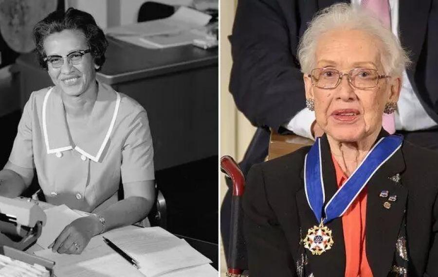 Katherine Johnson, mathématicienne de la NASA dans le film `` Hidden Figures '' décède à 101 ans