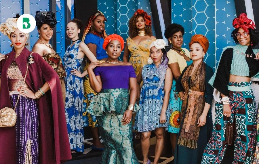 Voici 14 femmes déguisées en princesses Disney portant des imprimés africains, en photos