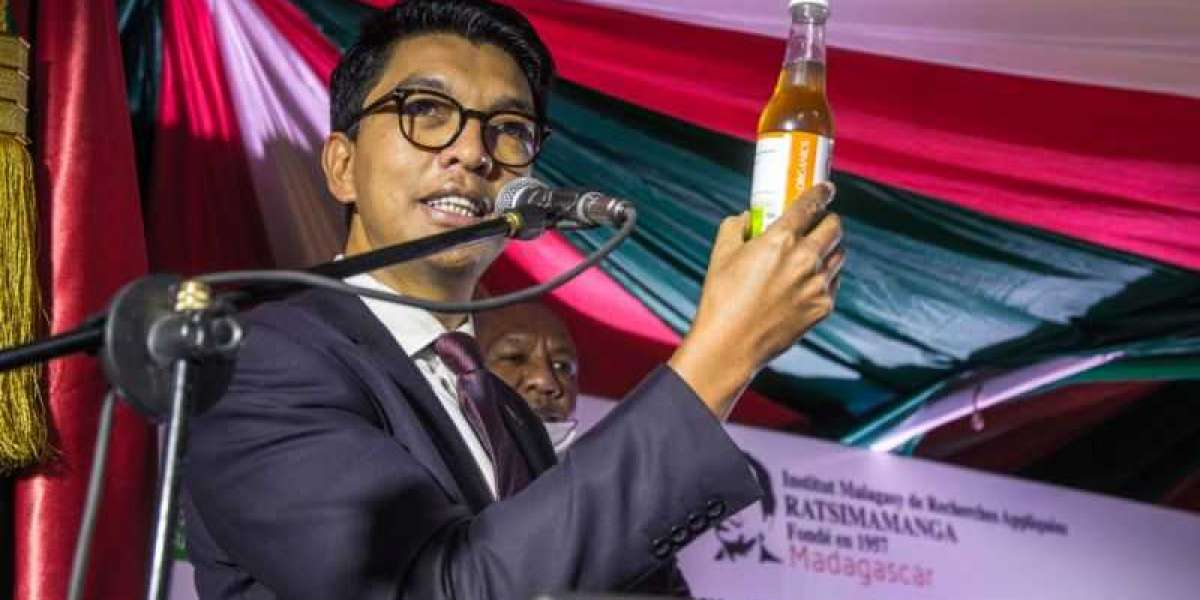 """Andry Rajoelina: le problème du covid-Organic, c'est qu'il vient d'Afrique"""""""