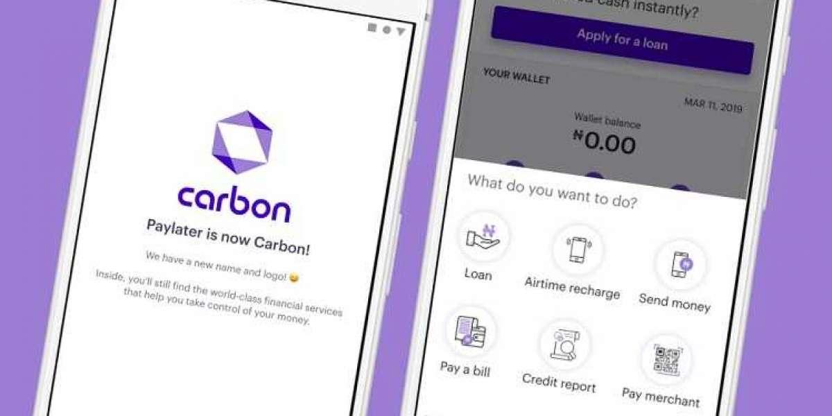 Une start-up nigériane Fintech, Carbon lance un service de banque sociale, «Carbon Express»