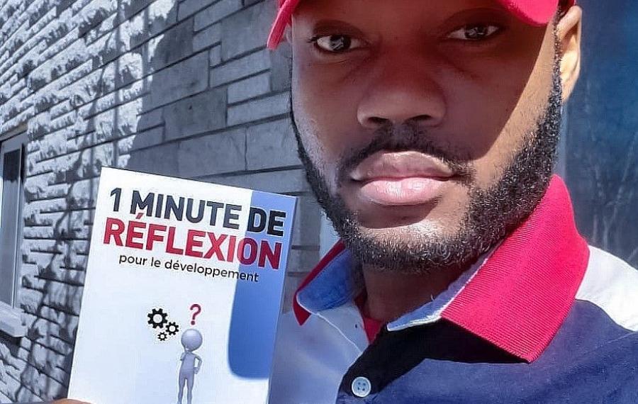 De Brazzaville au salon du livre de Montréal... Merveille Nkouma