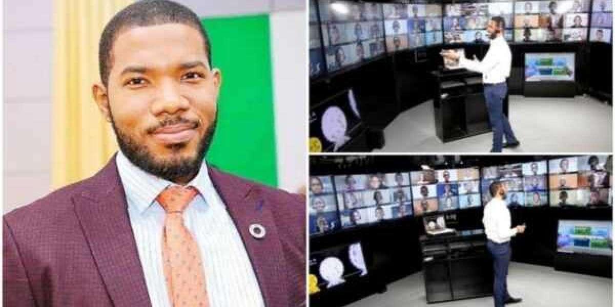 Un Nigérian, Otto Orondaam construit une classe virtuelle pour 948 enfants en Afrique