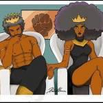 Afro and splendeur