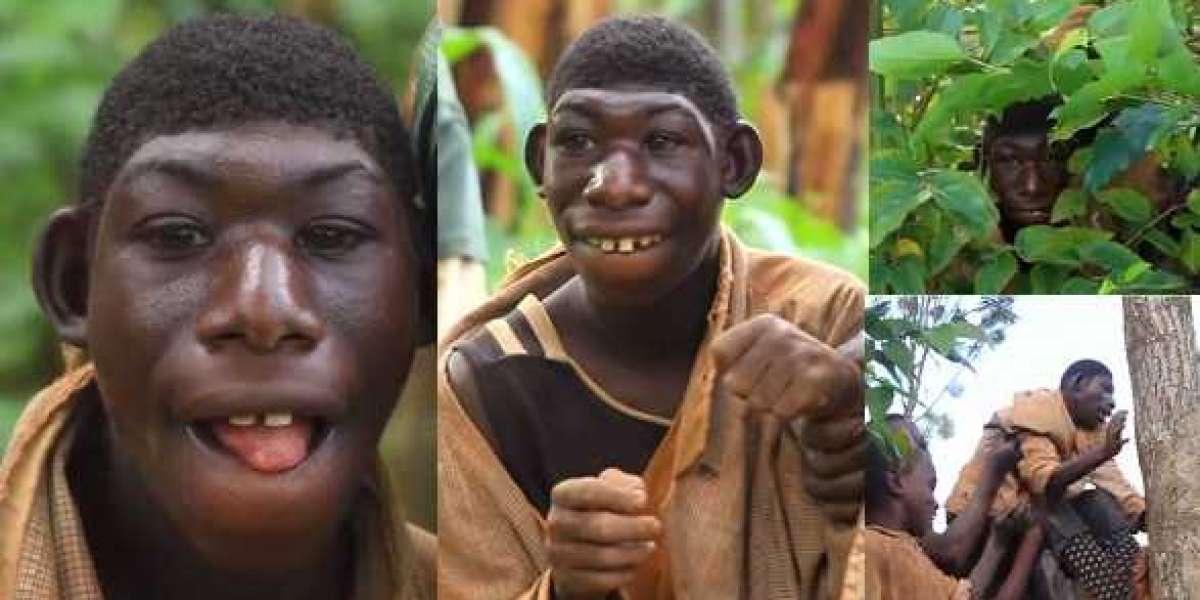 Rencontrez un garçon de 21 ans qui se nourrit d'herbe, ne peut pas parler et reste dans la jungle   Photos + Vidéo