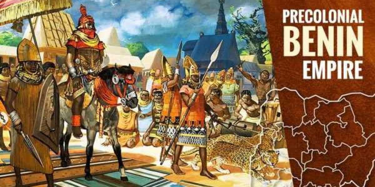 Comment la ville du Bénin a été pillée et incendiée par des soldats britanniques