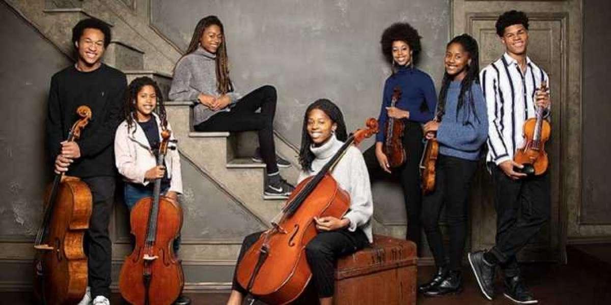 Rencontrez les Kanneh-Masons, sept frères et sœurs qui sont tous des génies de la musique classique