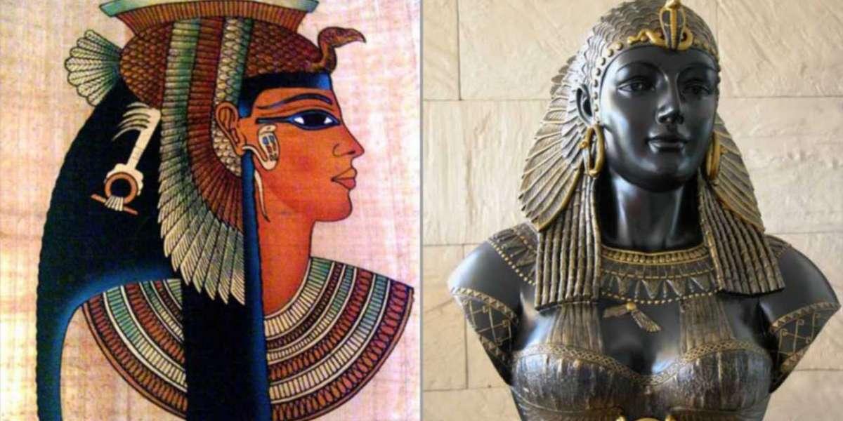 Reine Cléopâtre, une figure politique africaine populaire de l'Égypte ancienne