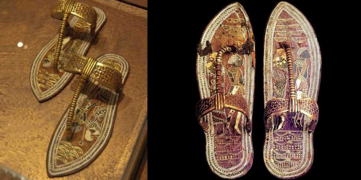 Sandales du roi Toutankhamon, 3300 ans