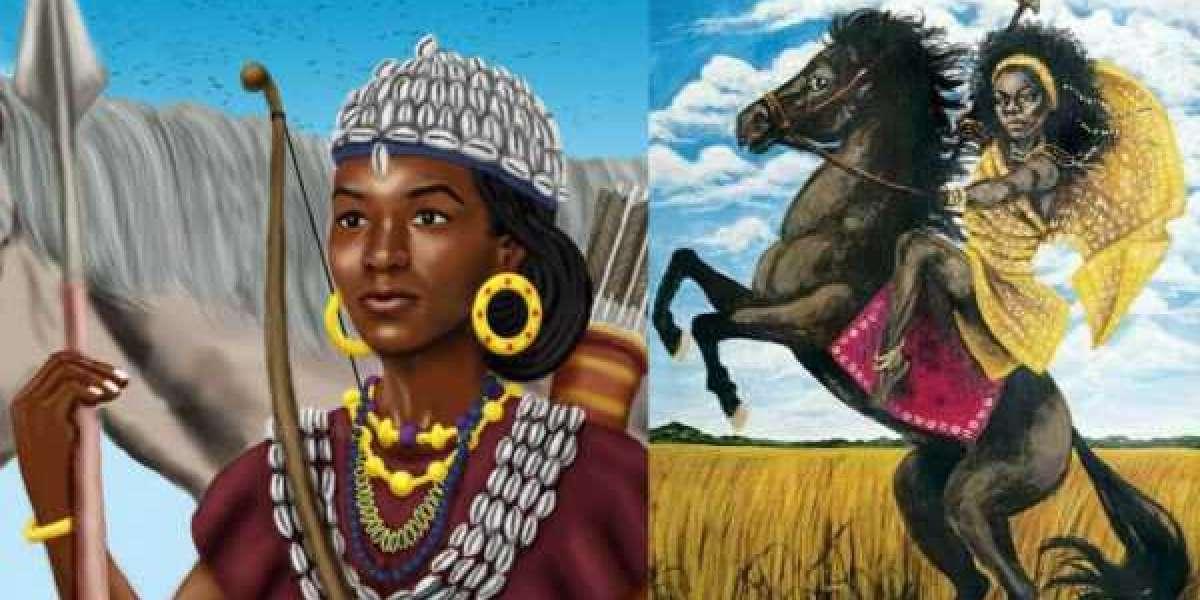 Yennnenga, princesse guerrière Dagomba dont le fils a fondé le royaume Mossi en Afrique de l'Ouest